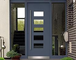 Haustüren modern  Modern, klassisch oder exclusiv | Aluminium-Haustüren | Dewald ...