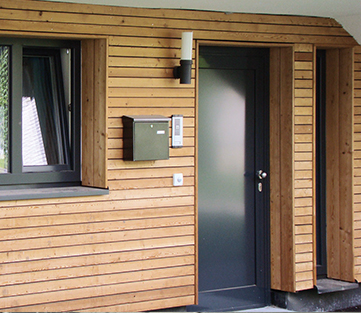 modern klassisch oder exclusiv aluminium haust ren dewald fensterbau. Black Bedroom Furniture Sets. Home Design Ideas